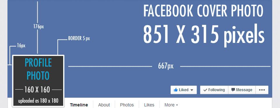 Conoce los tamaños de las imágenes de perfil y fondos en Facebook, Twitter, Google+ y más.