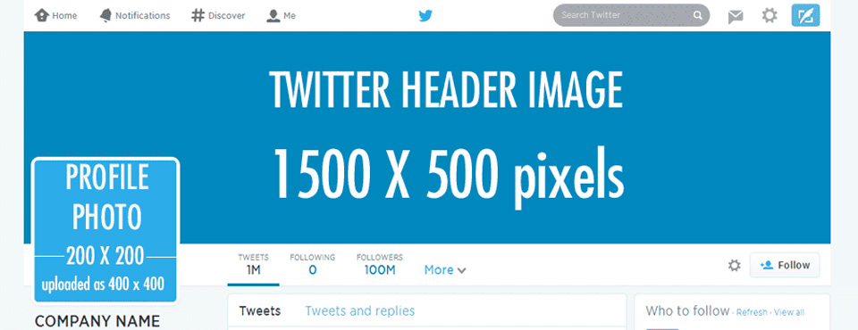 Dimensiones Twitter
