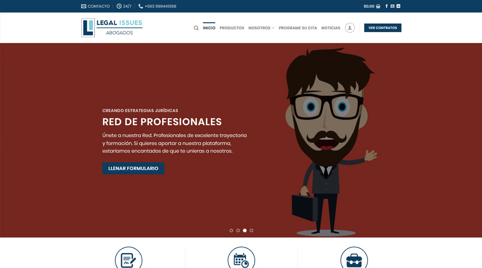 Lanzamiento portal Legal Issues Abogados