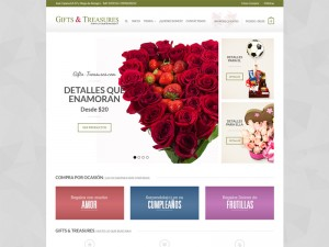 Rediseño – Gifts & Treasures