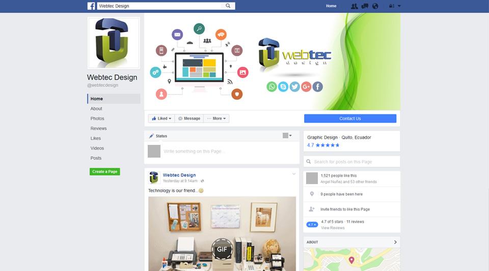 Facebook y su nuevo look