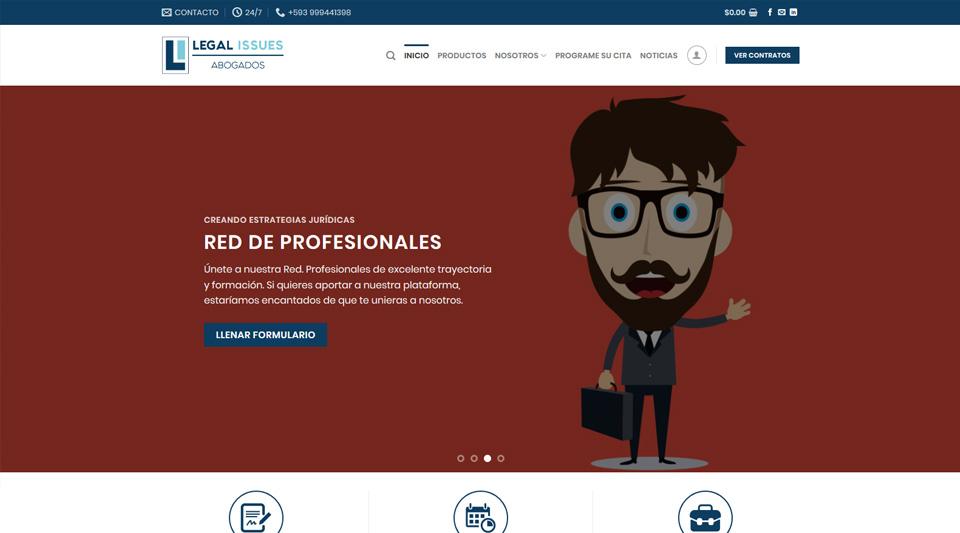 Lanzamiento portal Legal Issues Abogados